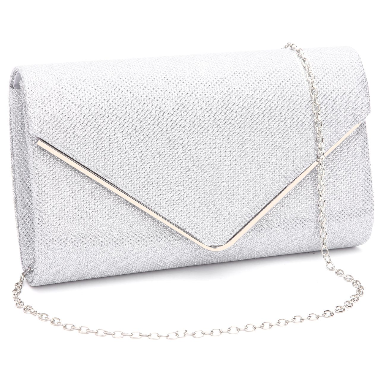 885c6c56aa Womens Shining Envelope Clutch Purses Evening Bag Handbags For Wedding and  Party.