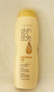 New AVON Skin So Soft Signature Silk Body Lotion 11.8 fl. oz. Factory Sealed