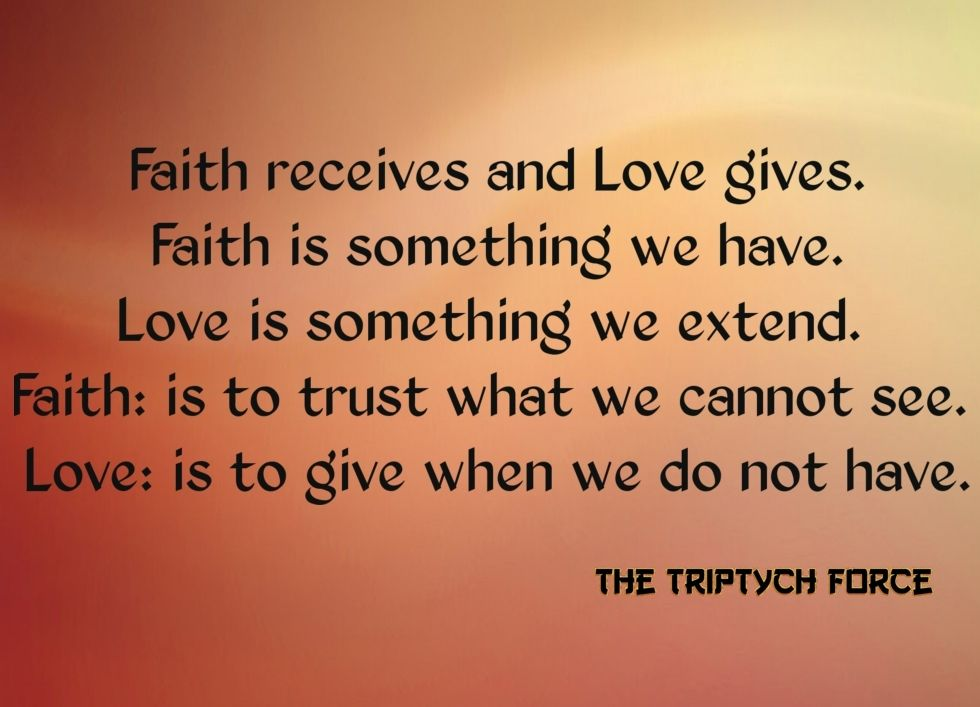 difference between love and trust