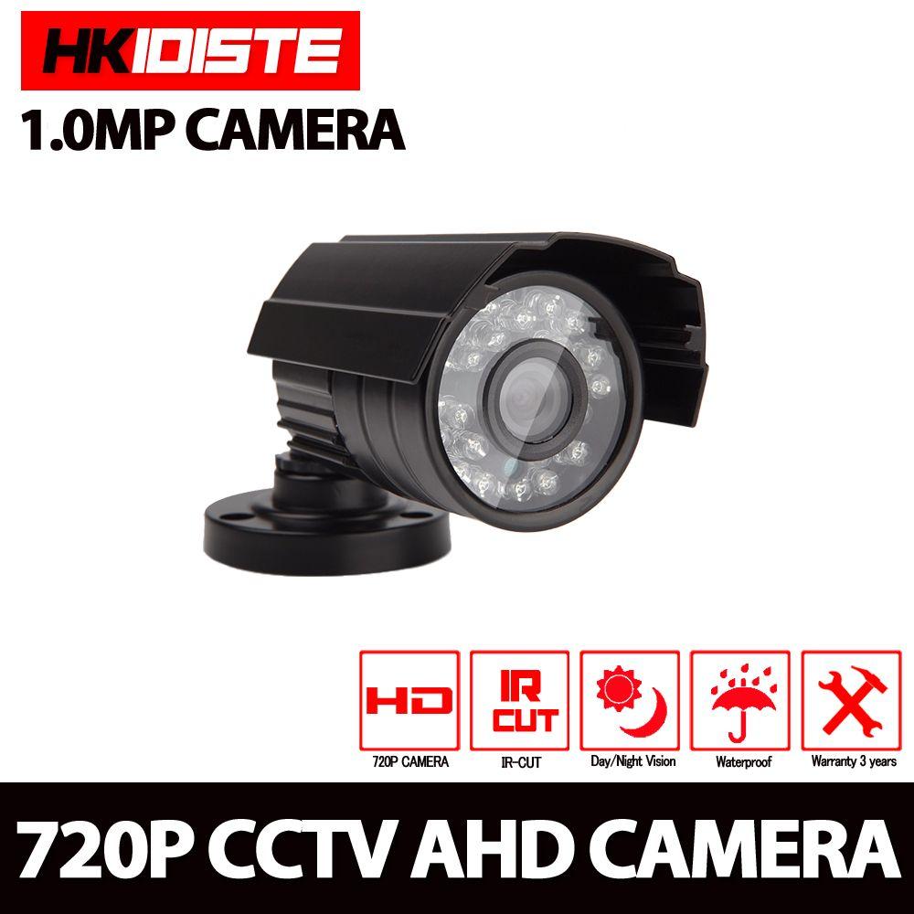 180 Degrees AHD 1080P 2.0MP 1.8MM FishEye Security Waterproof CCTV Bullet Camera