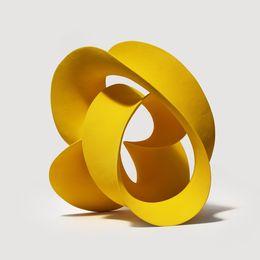 Merete Rasmussen, 'Yellow Twisted Loop,' 2016, J. Lohmann Gallery