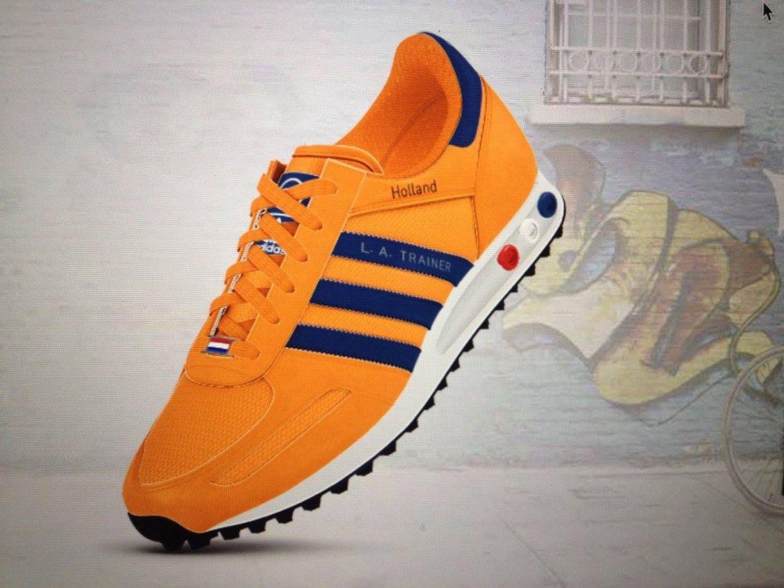 Adidas LA Trainer design