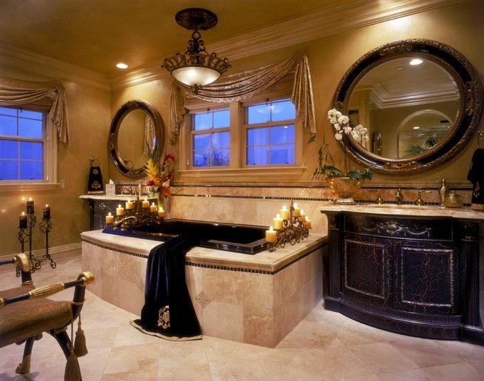 Ways To Make Your Luxury Bathroom Look More Expensive Bathroom Design Luxury Tuscan Bathroom Mediterranean Bathroom