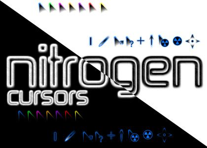Nitrogen Cursors for Windows - free cool mouse cursors download