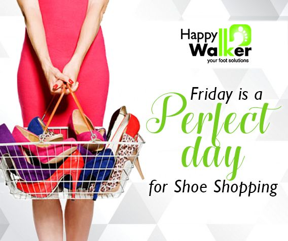 Yipee it's Friday! Time to chill and give your shoe shopping a go!