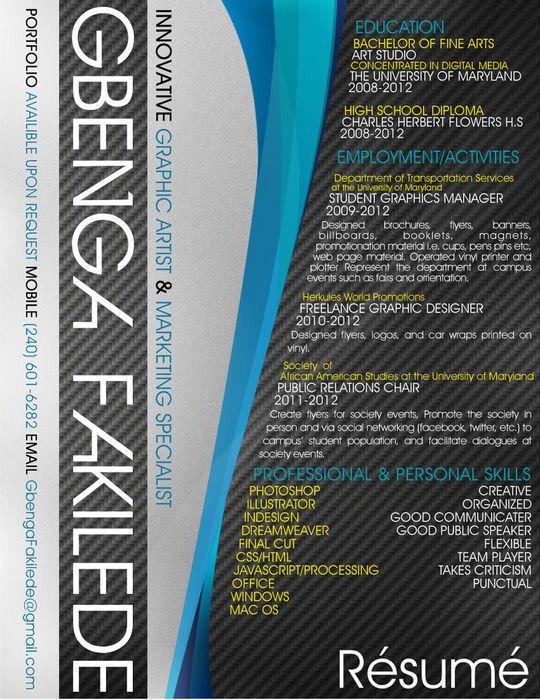My Resume | Resume Design & Layouts | Pinterest | Resume ideas ...