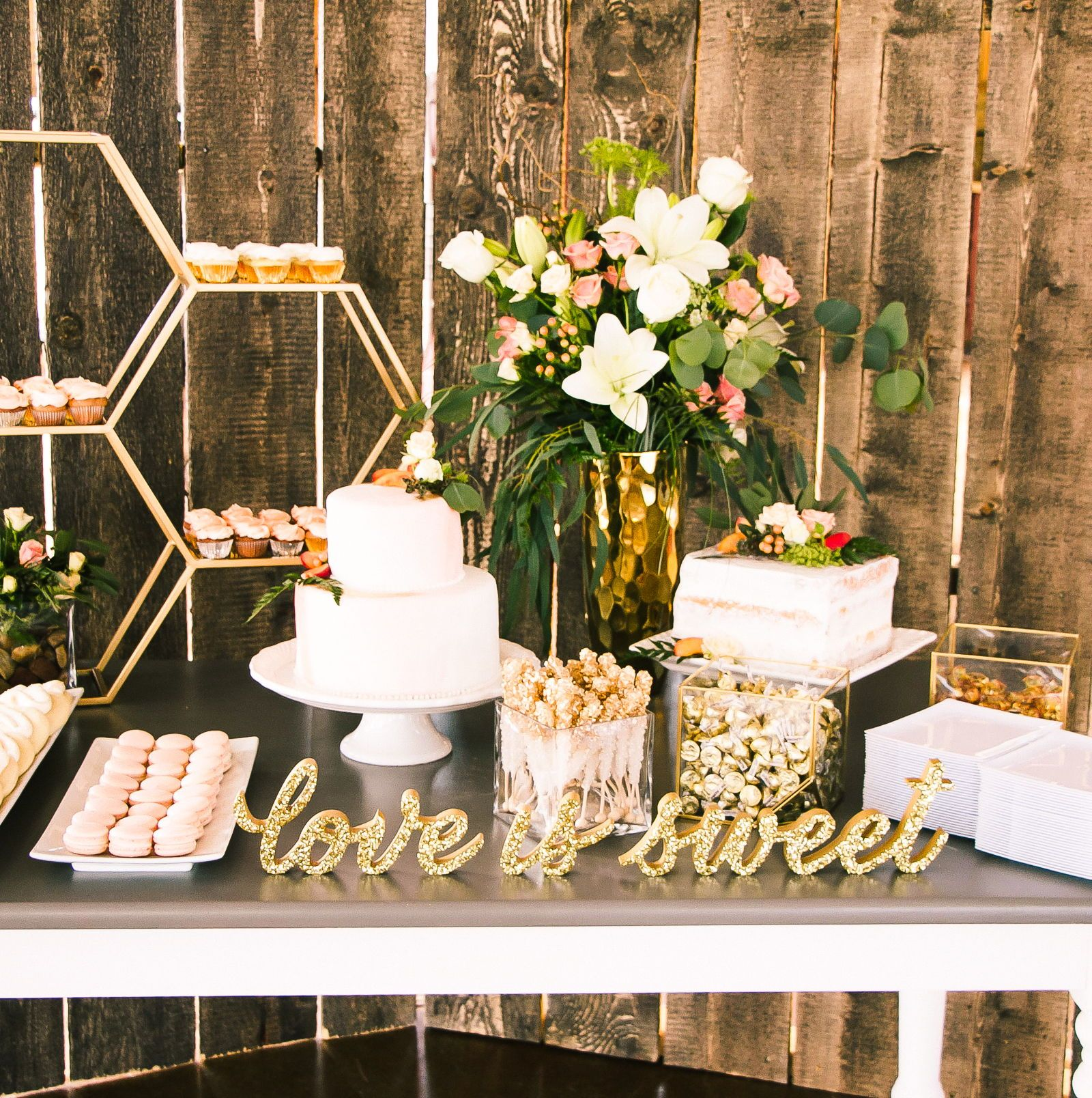Bridal Shower Table Ideas You Ll Love In 2020 Bridal Shower Desserts Table Wedding Candy Table Wedding Dessert Table Decor