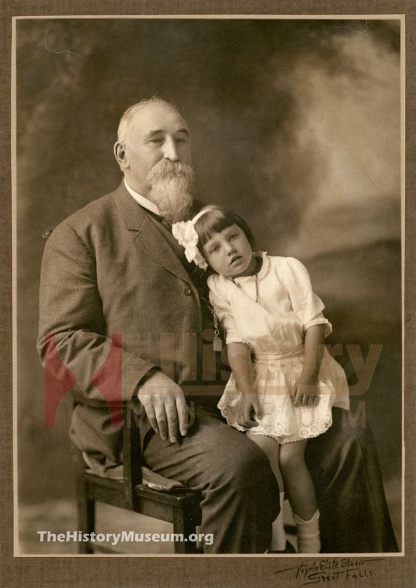 Great Falls, Montana - Rachel Sue Bovey & her Grandfather, RS Ford