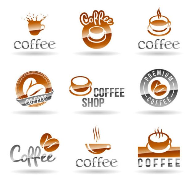 9 Coffee Shop Logo Design Vector Edu Exam Coffee Shop Logo