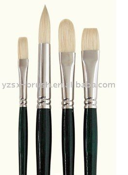 #professional artists painting brushes, #bristle paint brush, #bristle artist brush