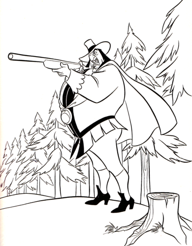 Walt Disney Coloring Pages - Governor Ratcliffe Hintergrund ...