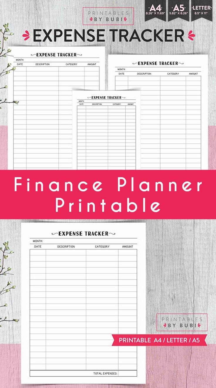 15+ Free Printable Monthly Budget Planner Templates If