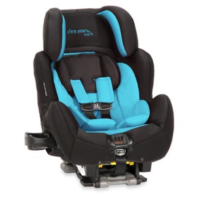 Ryan's carseat The First Years™ True Fit SI Convertible C680 in Pop of Teal - buybuyBaby.com