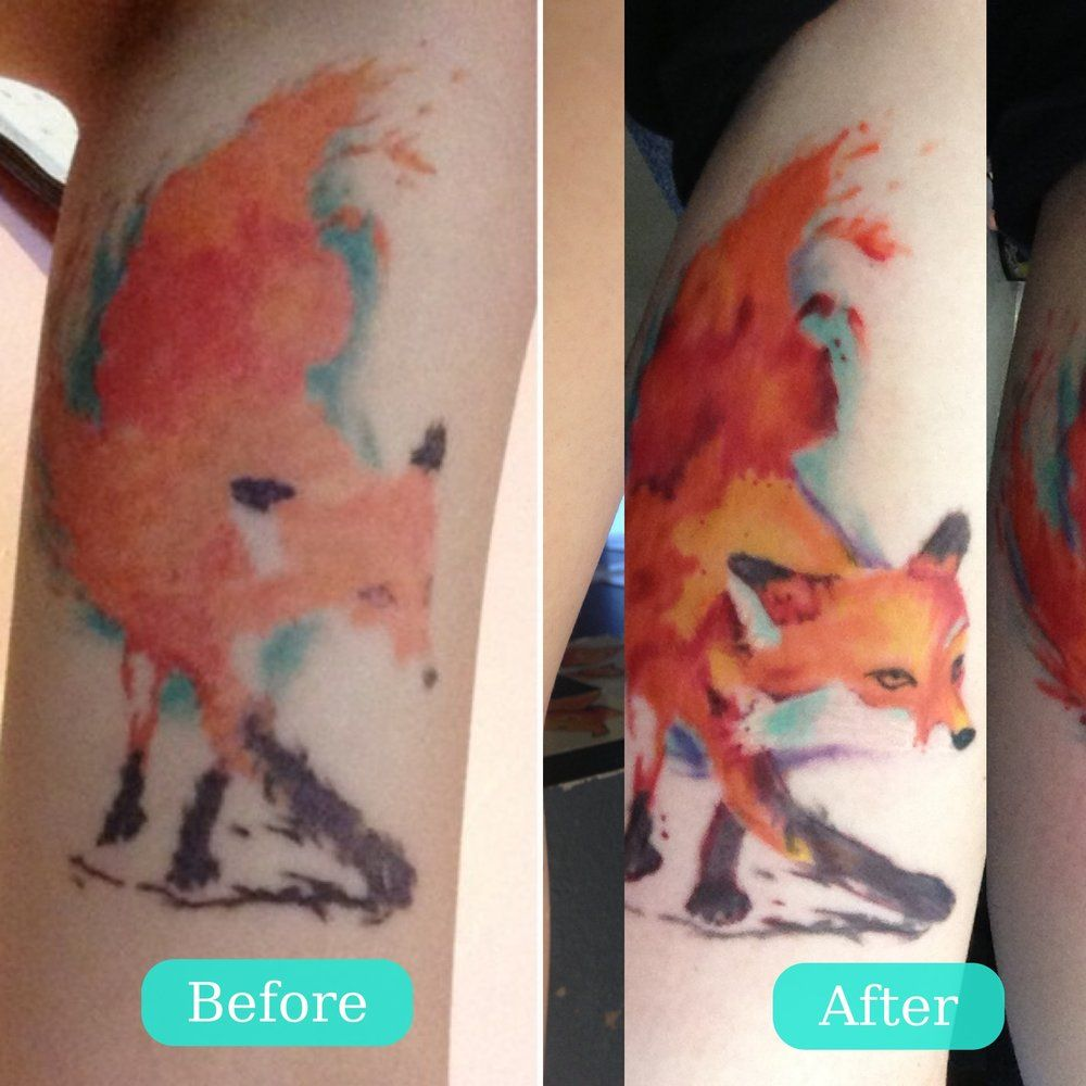 What Are Watercolor Tattoos How Quickly Do They Fade