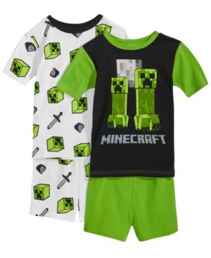 Minecraft Boys Steve and Creeper Pyjamas