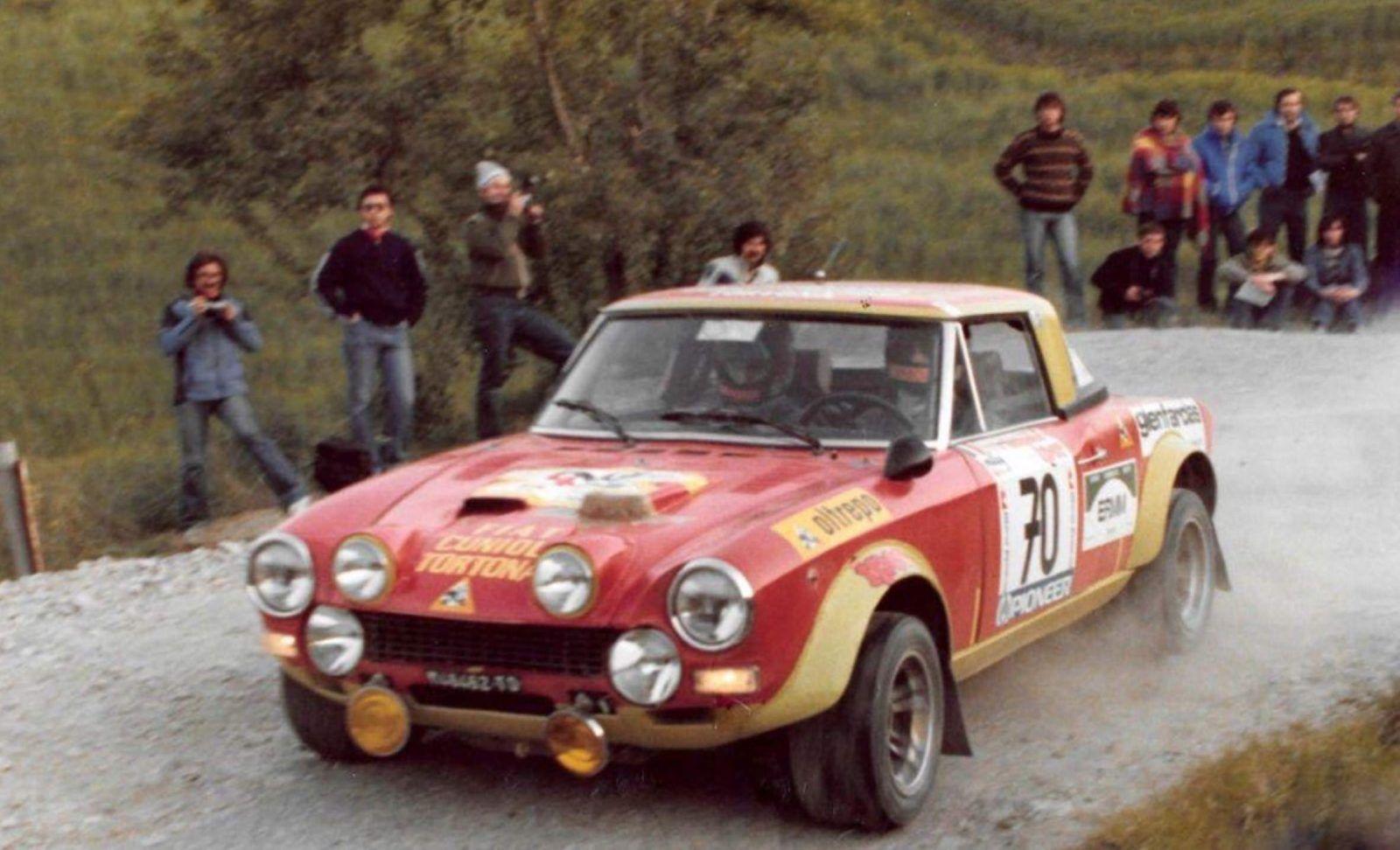 Pin Op Fiat 124 Spider