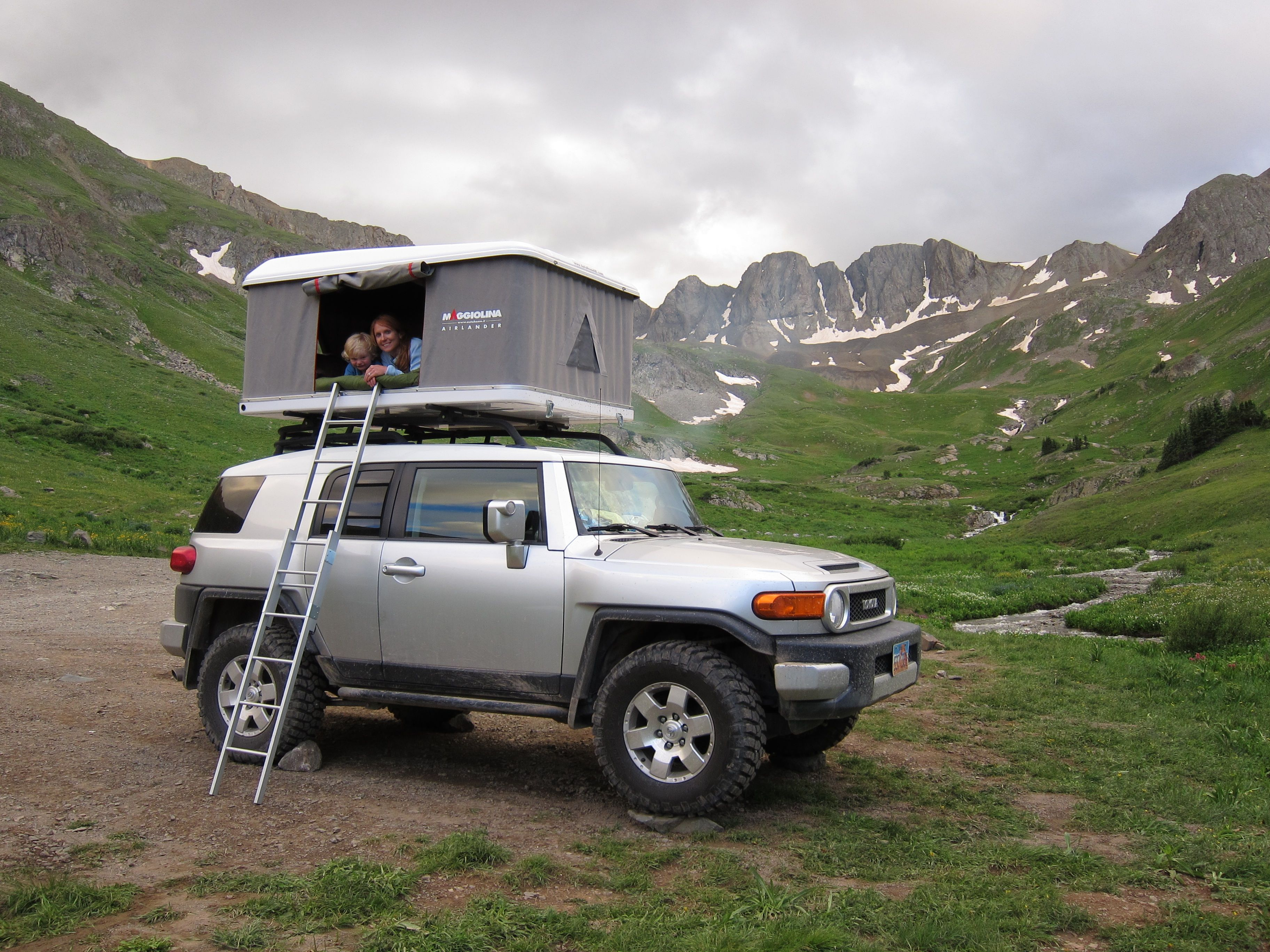Maggiolina Roof Top Tent - Steve has always wanted an FJ. & Maggiolina Roof Top Tent - Steve has always wanted an FJ... | FJ ...