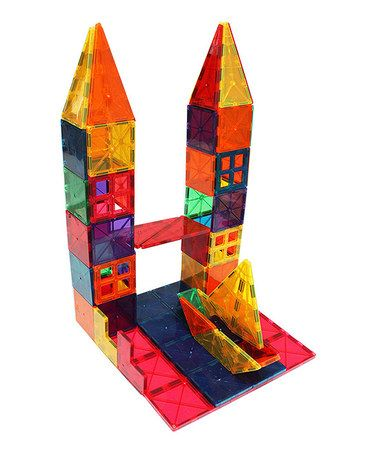 Rainbow 100 Piece Building Set Zulily Zulilyfinds Metro