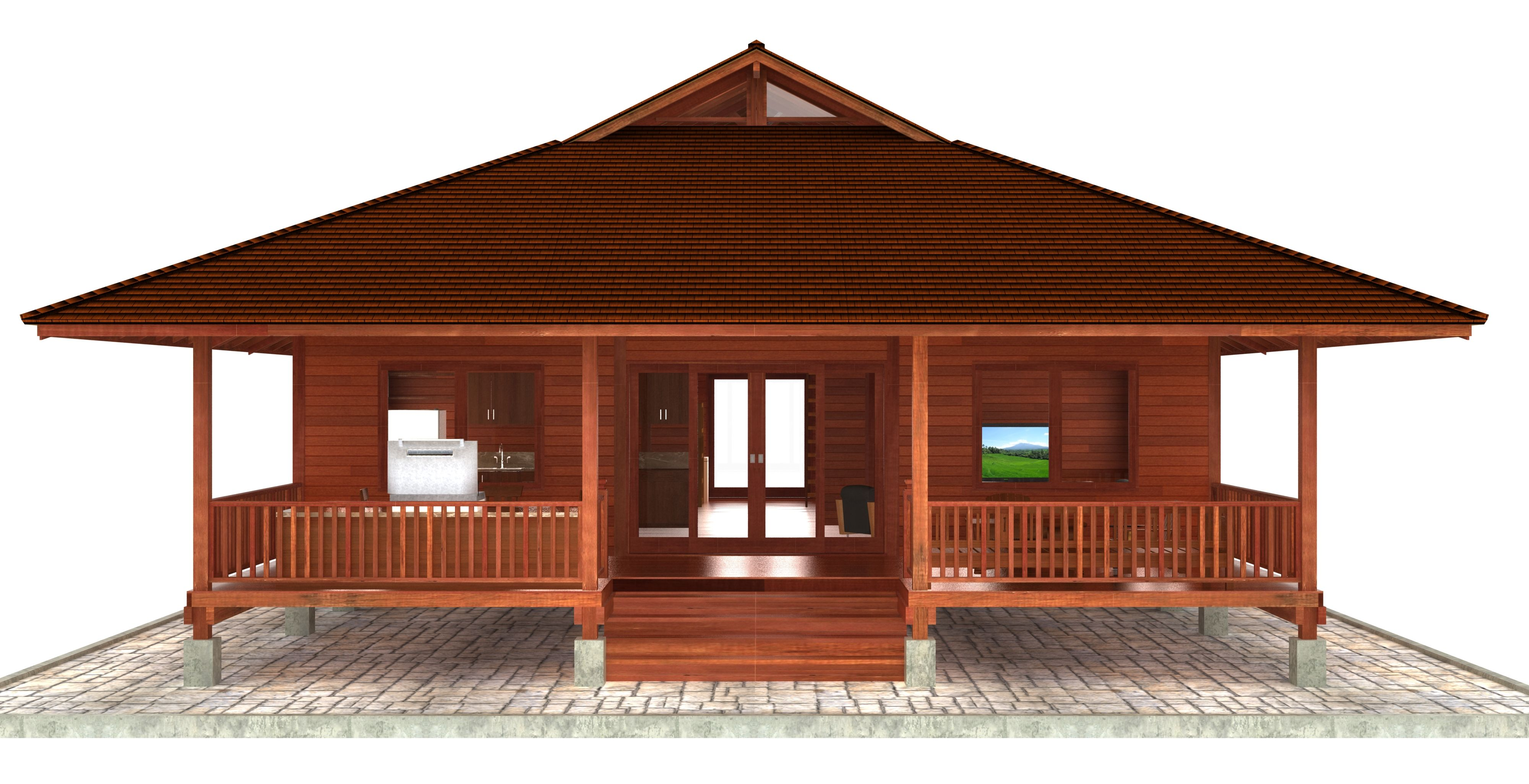 c04ab6f23d0452088af52b31fe0ca95b - 39+ Small Bamboo House Design And Floor Plan PNG