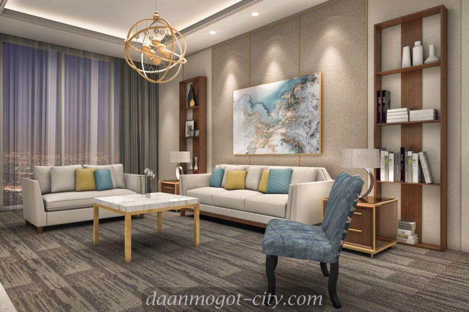 Design Interior Apartemen Daan Mogot City Interior Apartemen