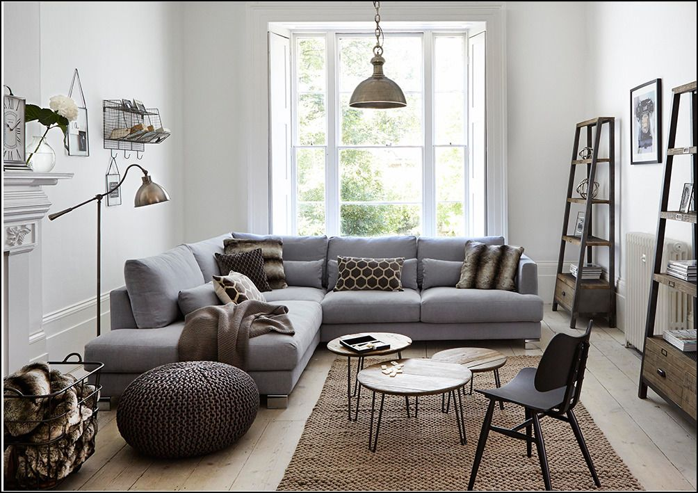 Grey Corner Sofa Decorating Ideas Corner Sofa Living Room