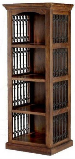 Jali Sheesham Alcove Bookcase Online By Hermitage Furniture From Cfs Uk At