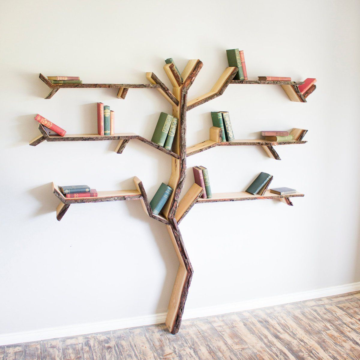 Etsy UK EtsyUK On Twitter Tree Shelf Bookshelf Bookshelves