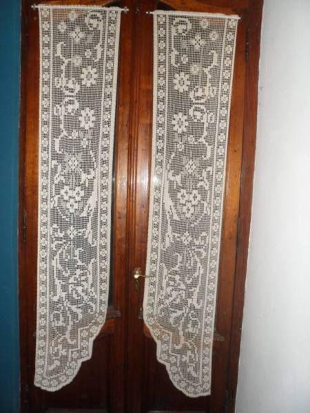 Visillos para puertas buscar con google cortinas pinterest Visillos para puertas