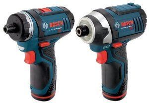 Bosch Clpk27 120 12 Volt Max Lithium Ion 2 Tool Combo Kit Drill Driver And Impact Driver With 2 Batteries Charger And Case Amazon Com Machine Outil Outils