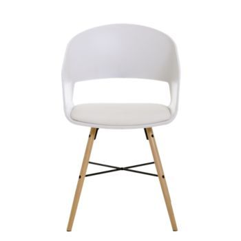 chaise boisblanc   Chaise bois blanc, Chaises bois