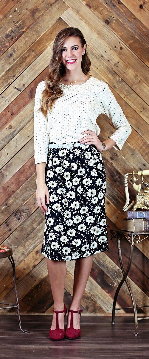 Full Skirt [MSF5346] - $44.99 : Mikarose Boutique, Reinventing Modesty