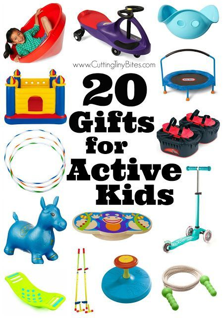 20 Gifts For Active Kids Christmas Gifts For Boys