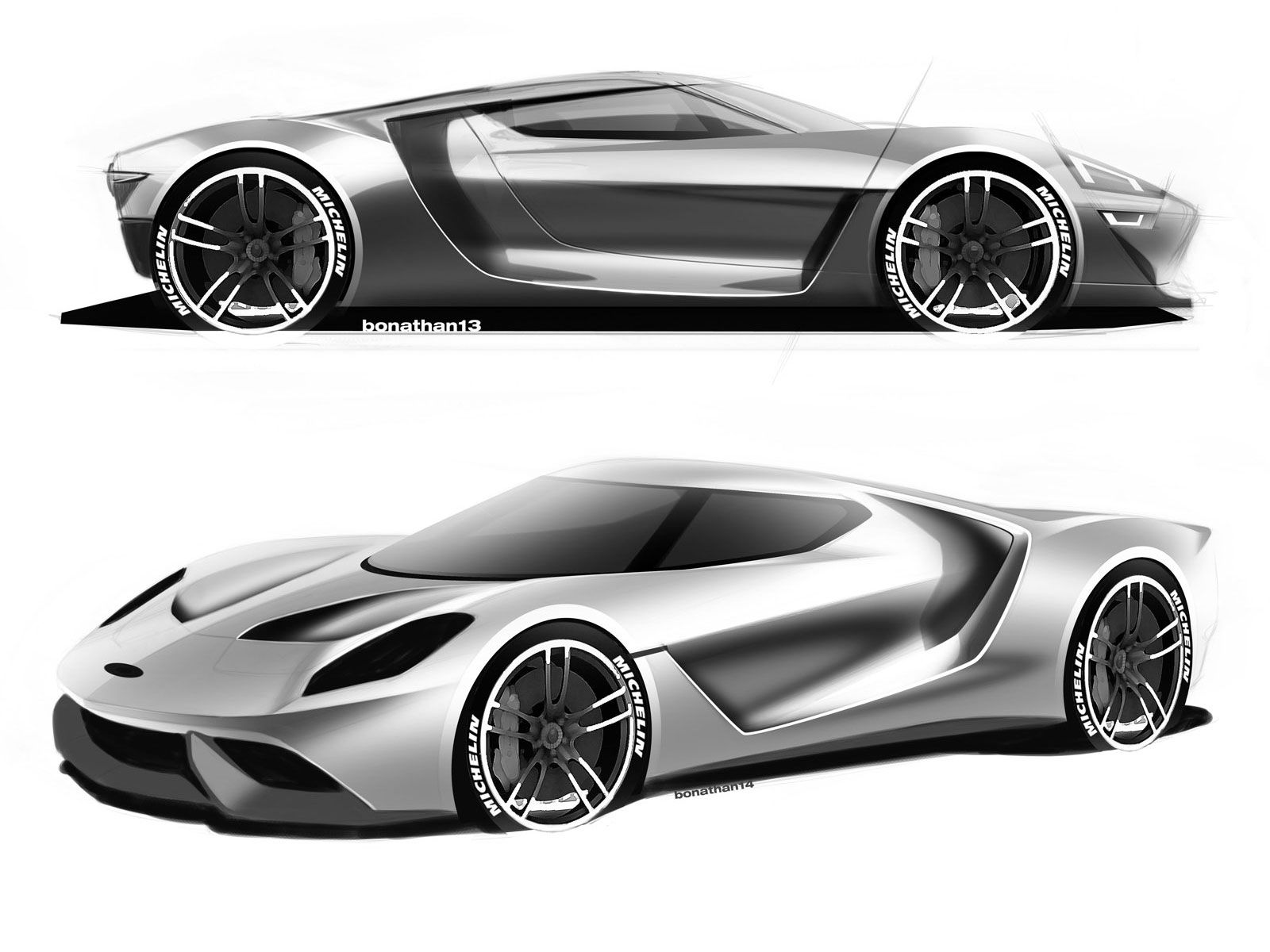 Ford Gt Production Extended Design Sketches Cardesign Carbodydesign Ford Fordgt Designsketch Design Supercar Concept Car Design Car Design Ford Gt