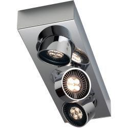 Mawa Design Wittenberg wi-ab-125-3e Led 3er-Aufbaustrahler, 3000 K, weiß matt pulverbeschichtet (ral #eyeshadowlooks