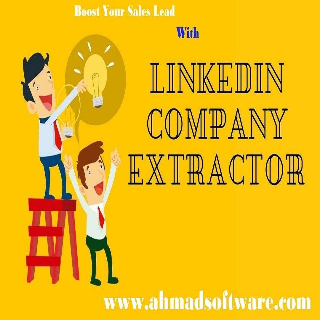 LinkedIn Company Extractor extracts companies profiles