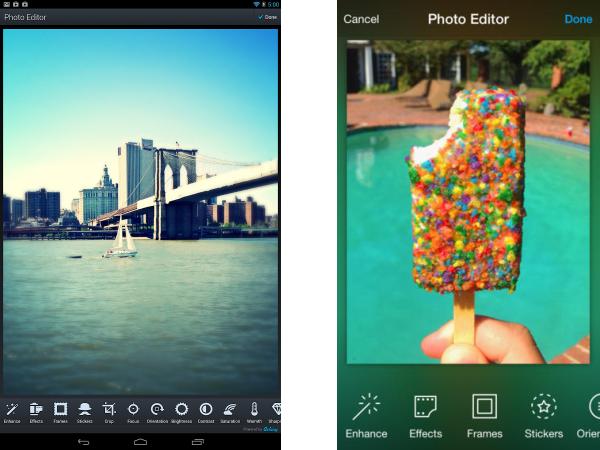 Photo Editor by Aviary (Android, iOS, Windows Phone) #PhotoEditor  #howtobuildanaviary