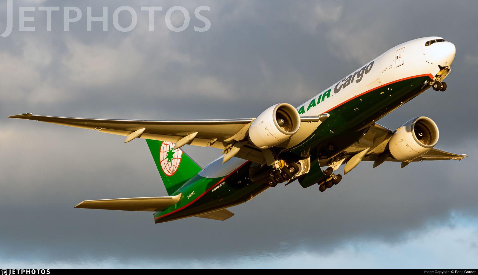 Airline EVA Airways Registration B16782 Aircraft
