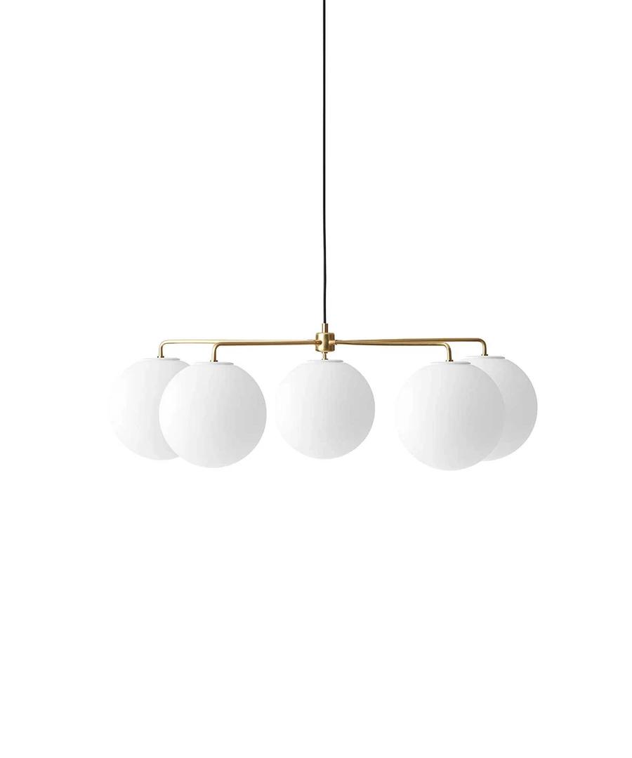 Chambers Chandelier By Menu Modern Scandinavian Design Trnk Scandinavian Chandeliers Metal Table Lamps Modern Scandinavian Design