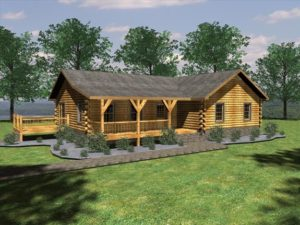 Medium Size Cabins Up To 2000 Sq Ft Honest Abe Log Homes Cabins In 2020 Timber Frame Home Plans Log Homes Log Home Plans