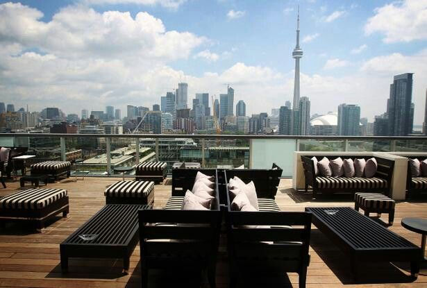 Rooftop Lounge The Thompson Hotel Toronto Oh Canada Toronto