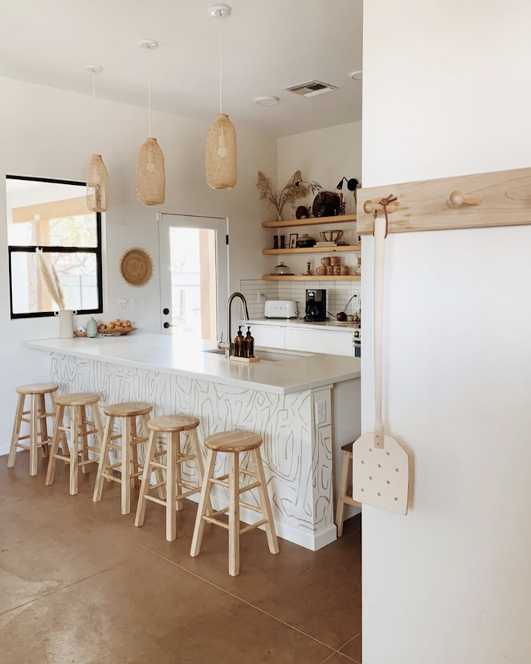 My Scandinavian Home A Relaxed Tucson Home In Sun Kissed Earthy Tones Charming Kitchen My Scandinavian Home Earthy Kitchen