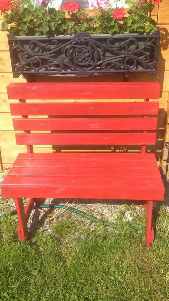 DIY IKEA Hack   Modern Outdoor Bench Made From $20 Sultan Lade (bed Slats)
