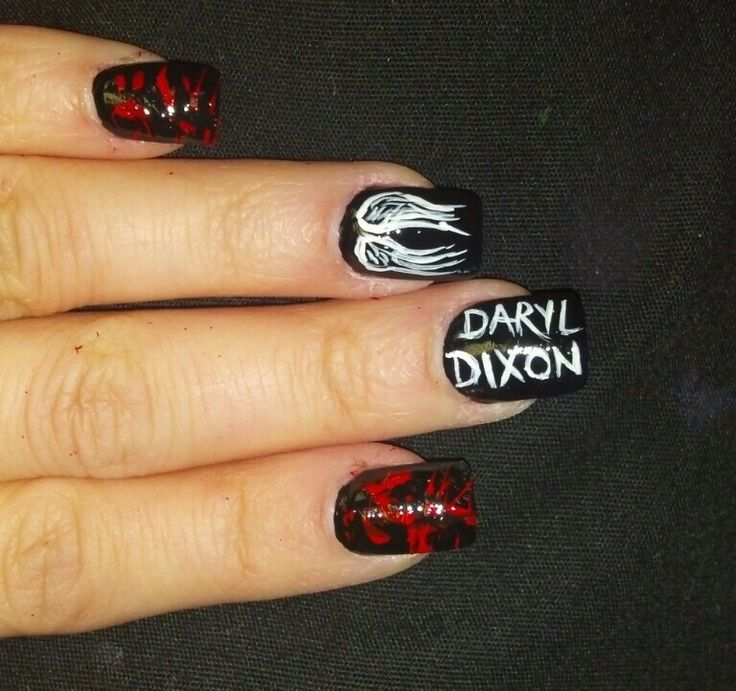 walking dead nails - Google Search