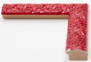 Cornice in legno su misura con rose decorate Vendita