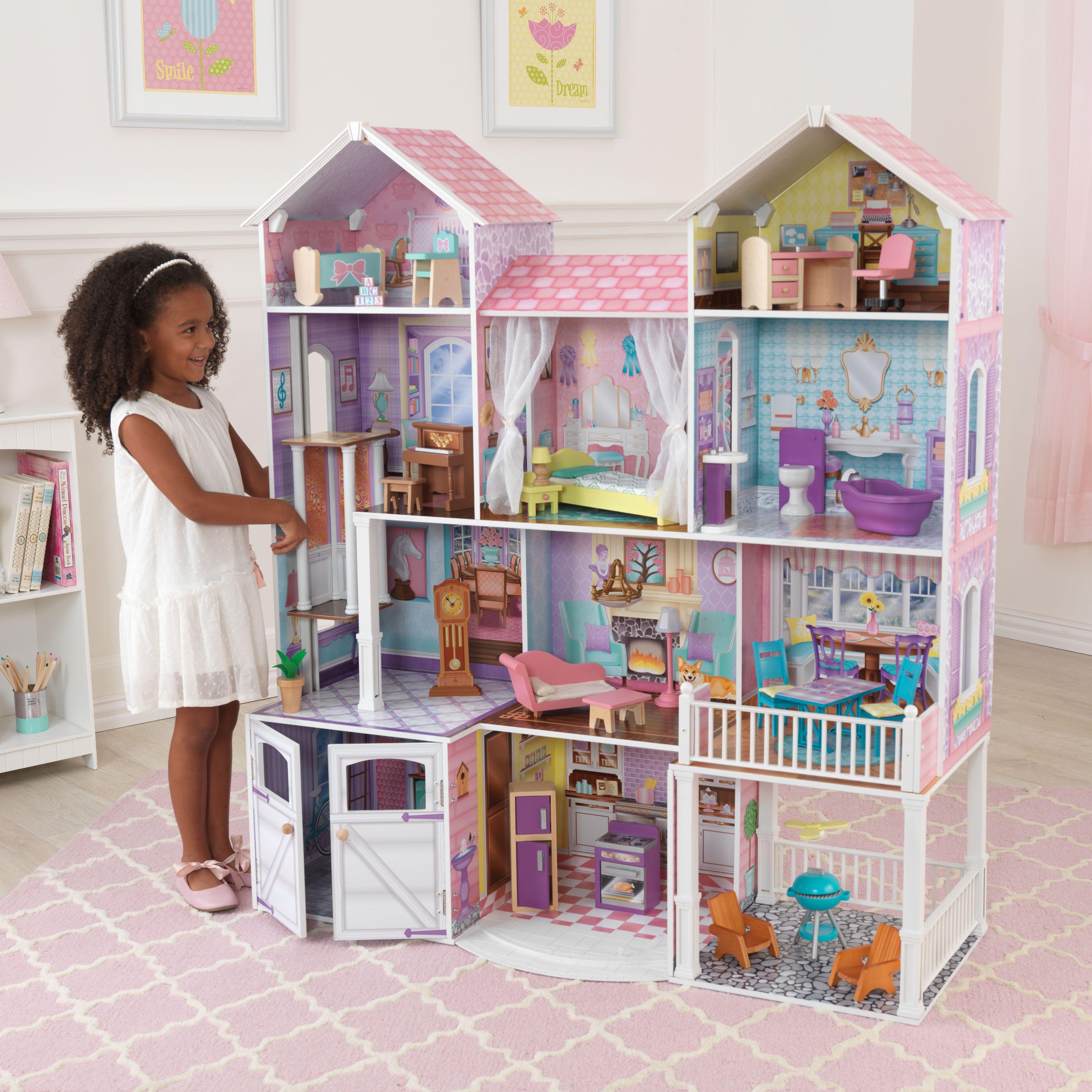 Dollhouse Miniature Furniture Collectible Wardrobe Play House Doll Dream Closet