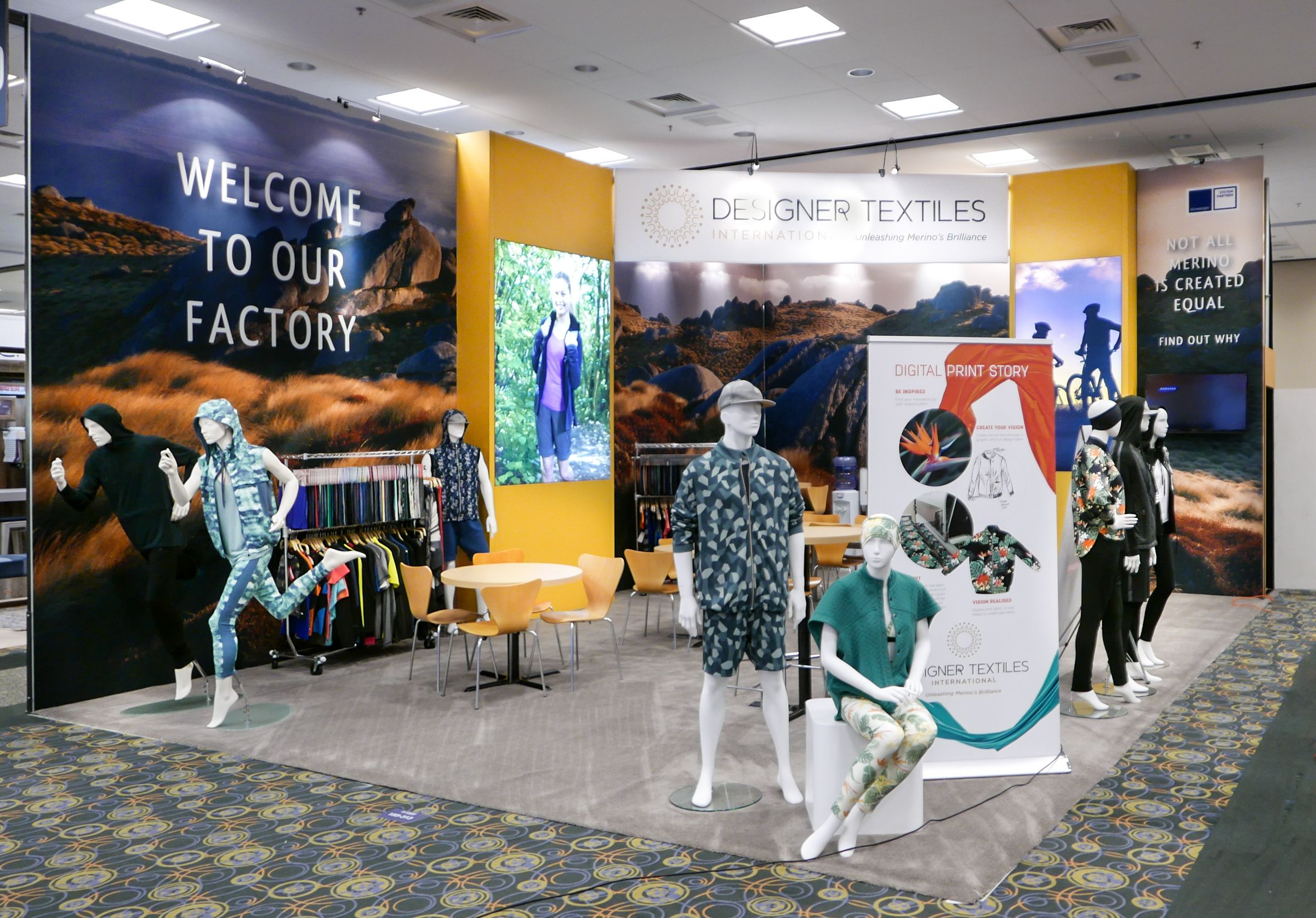 Rental Booths And Exhibits From Custom Designers Design Trade Show Textile Design