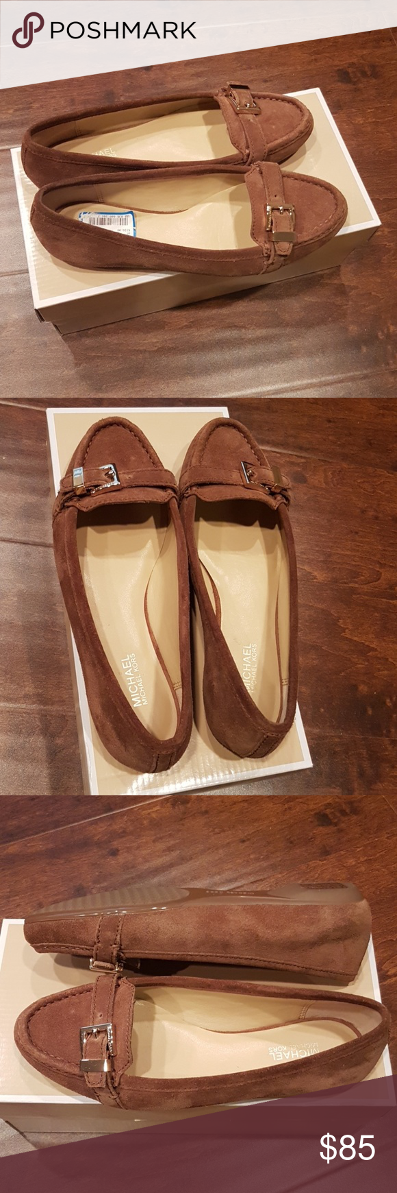 Michael Kors Rory Moccasin - Size 6 NWT