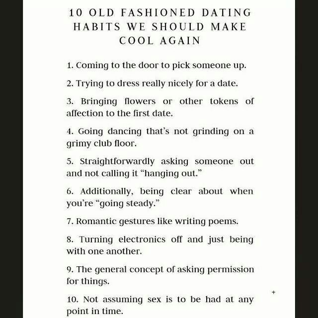 Dating rules age