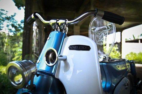 14 Detail Modifikasi Honda Supercub 800 Bergaya StreetCUB | Otosia.com