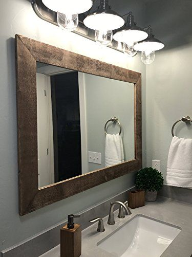 Framing A Bathroom Mirror Is An Easy Budget Friendly Way To Update The Process Fairly And Only Cost 20